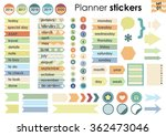 vector illustration   planner... | Shutterstock .eps vector #362473046