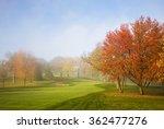Amazing Autumn Landscape With...
