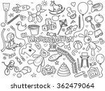 kindergarten design colorless... | Shutterstock .eps vector #362479064