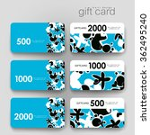 gift coupon  discount card... | Shutterstock .eps vector #362495240