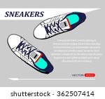 shoes vector | Shutterstock .eps vector #362507414