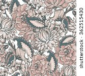 vintage floral baroque seamless ... | Shutterstock .eps vector #362515430