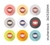 daruma. japanese traditional...   Shutterstock .eps vector #362520044