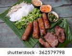 vietnamese food  spring roll or ... | Shutterstock . vector #362579798