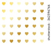 seamless pattern of the gold... | Shutterstock .eps vector #362596766