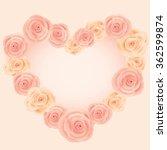 vector for lover invitation... | Shutterstock .eps vector #362599874