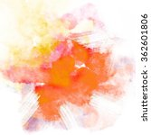 abstract watercolor painting... | Shutterstock . vector #362601806