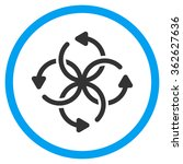 knot rotation icon   Shutterstock .eps vector #362627636