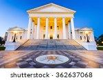 virginia state capitol in... | Shutterstock . vector #362637068