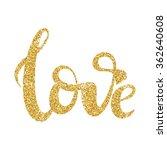 hand drawn calligraphy... | Shutterstock .eps vector #362640608