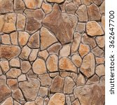 Seamless Texture Stone Wall....