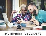 people friendship coffee break... | Shutterstock . vector #362657648