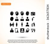 business man icons | Shutterstock .eps vector #362657834