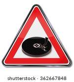 computer head crash and broken...   Shutterstock .eps vector #362667848