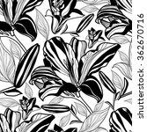 vector seamless floral pattern  ... | Shutterstock .eps vector #362670716