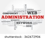 administration word cloud ... | Shutterstock . vector #362672906