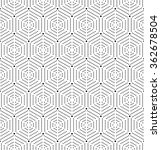 geometric repeating vector... | Shutterstock .eps vector #362678504