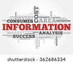 information word cloud ... | Shutterstock . vector #362686334