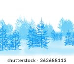 winter forest   Shutterstock . vector #362688113