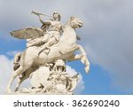 The Statue Of Pegasus In Paris...