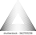 abstract triangle geometrical... | Shutterstock .eps vector #362705258