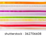 Colorful Ribbons Horizontal On...