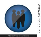 three people | Shutterstock .eps vector #362728460