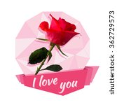 vector greeting card or sticker ... | Shutterstock .eps vector #362729573