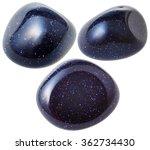 Mineral Gem Stone   Three Blue...
