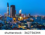 Top View Of Ho Chi Minh City A...