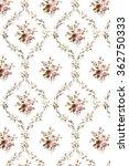 floral hand made design   Shutterstock . vector #362750333