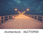 beautiful winter landscape  and ... | Shutterstock . vector #362753900