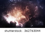 infinite space background with...
