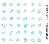 spa icons | Shutterstock .eps vector #362771816