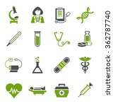 medical icons | Shutterstock .eps vector #362787740