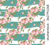 floral magnolia retro vintage... | Shutterstock .eps vector #362791268