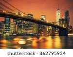 new york city manhattan midtown ... | Shutterstock . vector #362795924