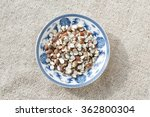 the blue and white porcelain... | Shutterstock . vector #362800304