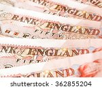 Detail Of British Pounds...