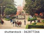 varanasi  india   jan 3 ... | Shutterstock . vector #362877266