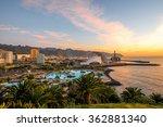 santa cruz cityscape view with... | Shutterstock . vector #362881340