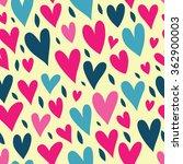 valentine's day. bright... | Shutterstock .eps vector #362900003