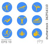 vector icons of people for... | Shutterstock .eps vector #362916110