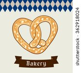 pretzel vector. background for...   Shutterstock .eps vector #362918024