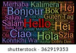Hello In Different Languages...