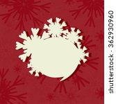 speech bubble. christmas... | Shutterstock .eps vector #362930960