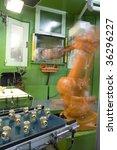 fragment cnc milling machine... | Shutterstock . vector #36296227