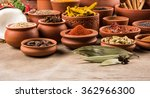 indian essential spices in... | Shutterstock . vector #362966300