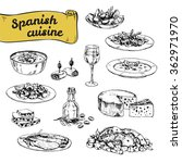 hand drawn vector illustration  ... | Shutterstock .eps vector #362971970