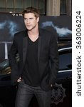 """Small photo of Liam Hemsworth at the Los Angeles Premiere of """"Thor"""" held at the El Capitan Theater in Los Angeles, California, United States on May 5, 2011."""